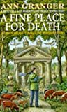 A Fine Place for Death: (Mitchell & Markby 6) (Mitchell and Markby Village Whodunnits) BESTES ANGEBOT
