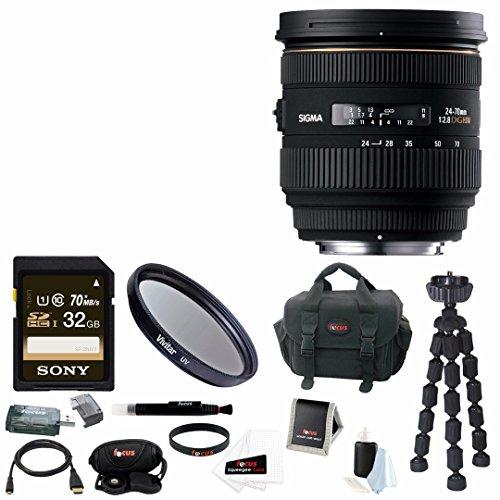 Sigma 24-70mm f/2.8 IF EX DG HSM Autofocus Lens for Canon EO