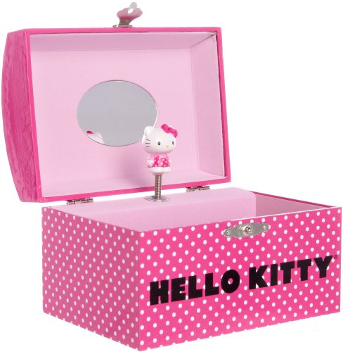 Sanrio Girls Hello Kitty Jewelry Box