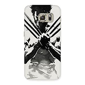 Premium Ready Wolf Shade Back Case Cover for Samsung Galaxy S6 Edge