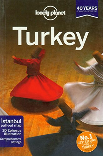 Lonely Planet Turkey (Travel Guide) front-848548