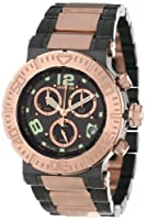 "Invicta Men's 6763 ""Reserve Collection"" 18k Rose Gold Ion-Plated Stainless Steel and Black Dial Watch from Invicta"