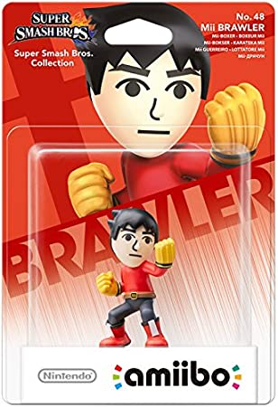 Nintendo - Figura Amiibo Smash Mii Fighter (Karateka Mii)