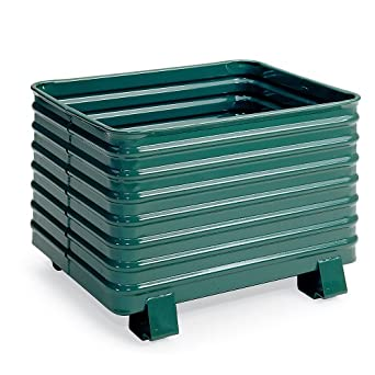 Amazon.com: Steel King Round Corner Corrugated Steel Containers - 49-1