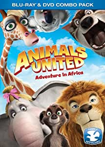 Animals United DVD/Blu Ray Combo