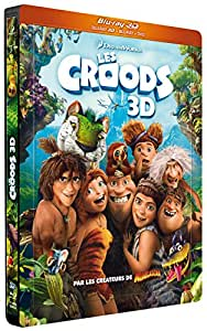 Les Croods [Combo Blu-ray 3D + Blu-ray + DVD - Édition boîtier SteelBook]
