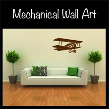 Mechanical wall art for your home