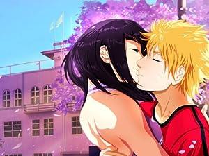 DJ0688 Uzumaki Naruto Hyuuga Hinata Kiss Anime Art 32x24 Print POSTER