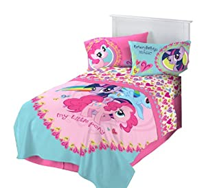 Hasbro Microraschel Blanket, 62-Inch by 90-Inch, My Little Pony I Heart Ponies at Sears.com