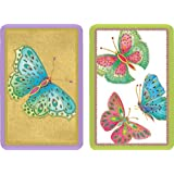 Entertaining with Caspari Playing Cards, Jeweled Butterflies