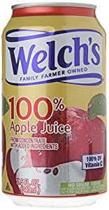Welch's 100% Apple Juice , 11.5-Ounce Cans (Pack of 24)