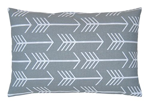JinStyles® Cotton Canvas Arrow Accent Decorative Pillow