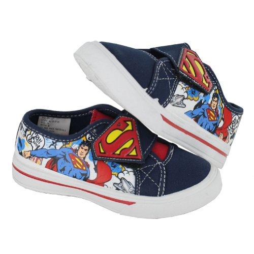 Dc Comics Toddlers/Little Kids Superman Velcro Canvas Shoes Blue Red Size 9 front-872867