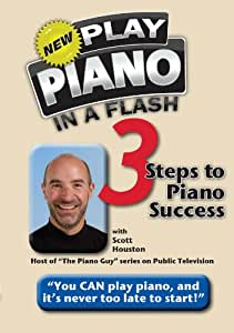Play Piano In A Flash 3 Steps To Piano Success Dvd