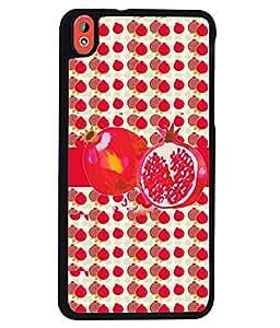 Fuson 2D Printed Fruit Designer back case cover for HTC Desire 816 - D4460