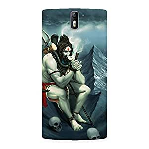 Enticing Shiva Multicolor Back Case Cover for One Plus One