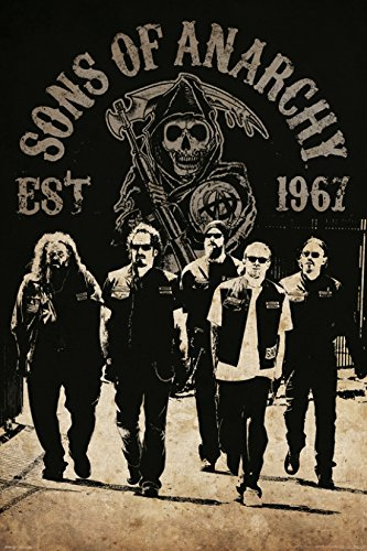 Sons of Anarchy - Reaper Crew Stampa Artistica Poster (60,96 x 91,44 cm)