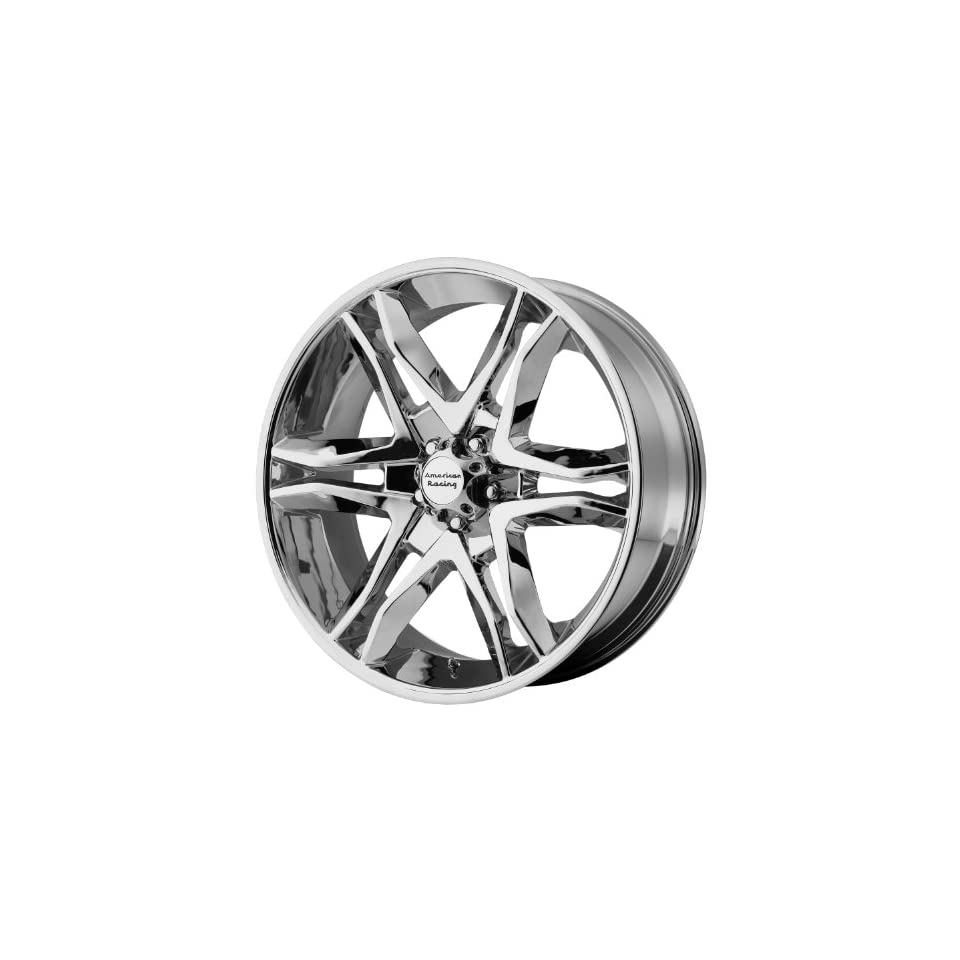 American Racing Mainline 17x8 Chrome Wheel / Rim 6x135 with a 25mm Offset and a 87.10 Hub Bore. Partnumber AR89378063225