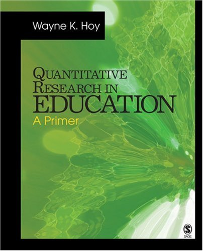 Quantitative Research in Education: A Primer