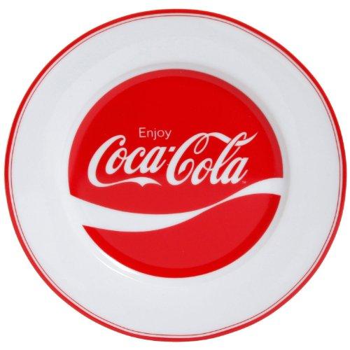 Ceramic Coca-Cola Enjoy Salad/Dessert Plate front-355672