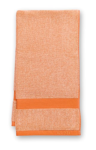 GUND Melange Bath Towel, Tangerine, 24'' By 48''