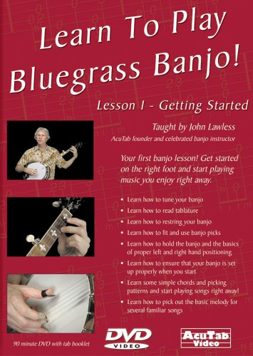 Learn to Play Bluegrass Banjo Lesson 1 Get Started [DVD] [Import]
