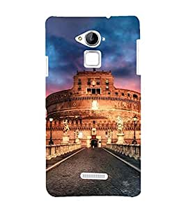 Vizagbeats Roman fort Back Case Cover for Coolpad Note 3