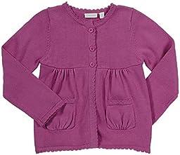 JoJo Maman Bebe Cotton Cardigan (Toddler/Kid) - Fucshia-4-5 Years