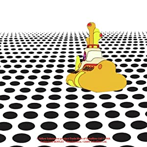 Drinks Mat / Coaster - The Beatles - Yellow Submarine - Sea Of Holes
