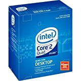 Intel Q9550 Core 2 Quad Proccessor - 2.83 GHz,12MB L2 Cache,1333MHz FSB,Socket LGA775,45 nm,3 Year Warranty,Retail Boxedby Intel