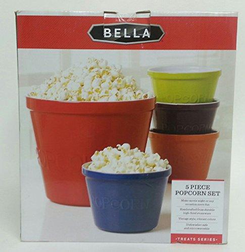 Bella 5 Piece Popcorn Set