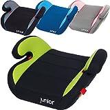Auto Kinder Sitzerhöhung Kindersitz (Für Kinder von 15 bis 36 Kg) Gruppe 2/3 (GRAU / ROSA / PINK)