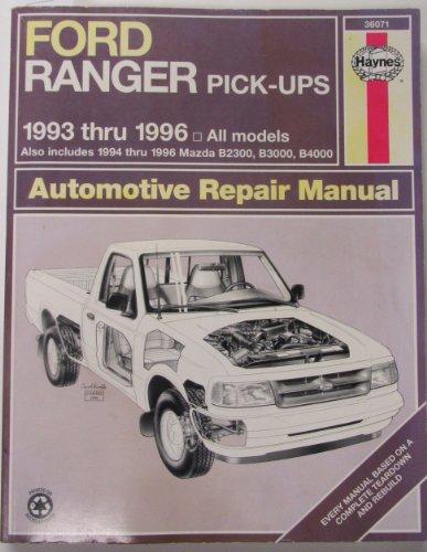 ford-ranger-mazada-b-series-pick-ups-automotove-repair-manual