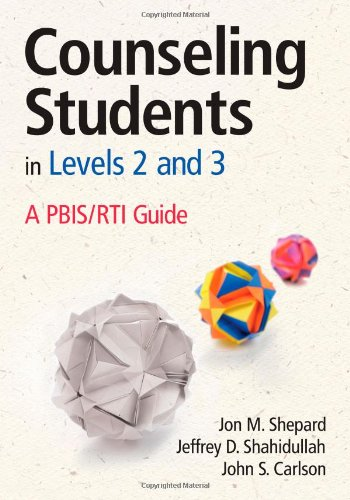 Counseling Students In Levels 2 And 3: A Pbis/Rti Guide front-940808