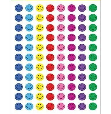 Dazzling Toys Mini Happy Face Stickers - 1144 Sticker Per Pack (D031)