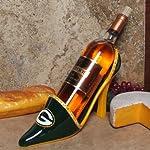 NFL Green Bay Packers Wineholder Shoe