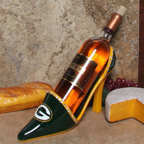 Nfl Green Bay Packers Wineholder Shoe front-732713