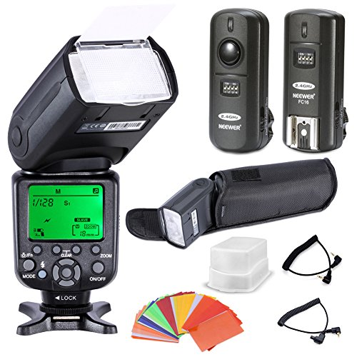 Neewer-High-Speed-Sync-E-TTL-Camera-MasterSlave-Flash-Kit-for-Canon-EOS-5D-Mark-III-5D-Mark-II-1Ds-Mark-6D-5D-7D-60D-50D-40D-30D-300D-100D-350D-400D-450D-500D-550D-600D-650D-700D-1000D-1100DEOS-Digita