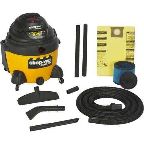 Shop-Vac 9625210 6.25-Peak Horsepower Right Stuff Wet/Dry Vacuum, 16-Gallon (18 Gal Shop Vac Bags compare prices)
