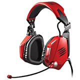 MadCatz F.R.E.Q.5 Headset: Red (PC DVD)