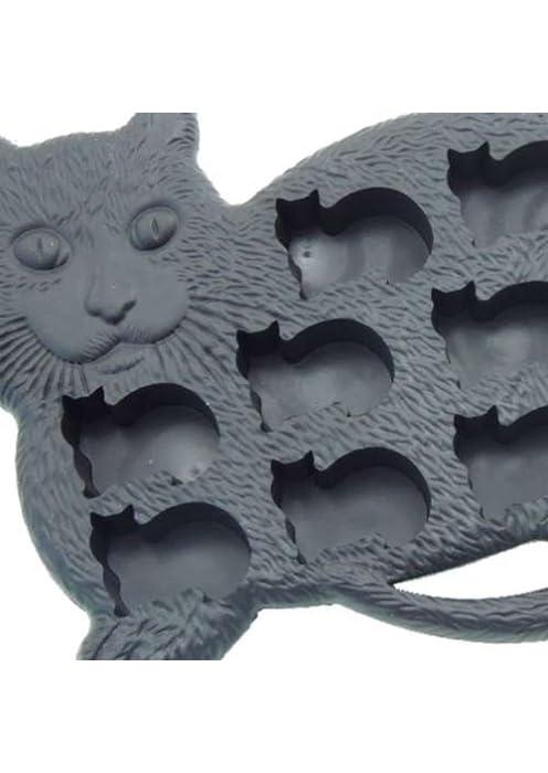 BLACK CAT/クロネコ アイストレイ(製氷皿)おもしろキッチン雑貨通販/