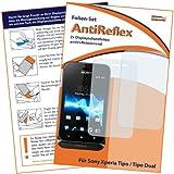 2 x mumbi Displayschutzfolie Sony Xperia Tipo Schutzfolie AntiReflex antireflektierend