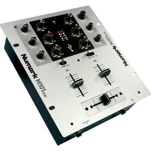 Numark M101 USB DJ mixer Mixer, mixing desk