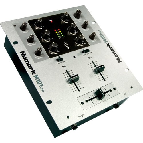 Buy Cheap Numark 2-Channel Rack-Mount DJ Mixer with USB (M101USB)