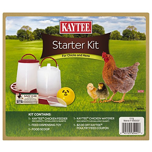Kaytee 100525237 Chicken/Chick Starter Kit