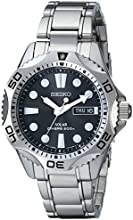 Seiko Men39s SNE107 Stainless Steel Watch with Link Bracelet