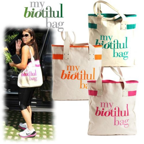 my biotiful bag/マイビューティフルバッグ/オーガニックコットン・エコ トートバッグ