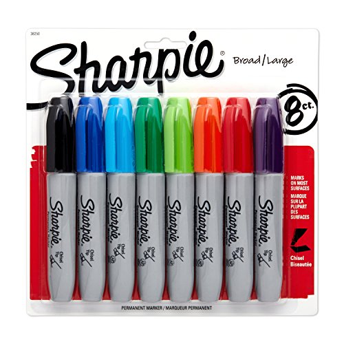 sharpie-pennarelli-indelebili-set-da-8-colori-assortiti