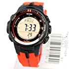 Casio Men's Protrek Prw-3000-4 Solar Radio Controlled Orange Limited
