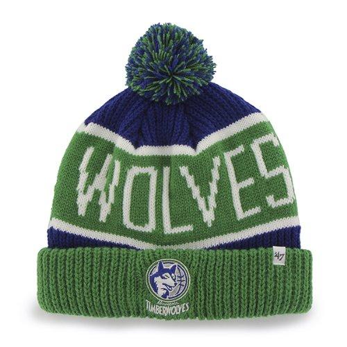 bb09f9bc943 Minnesota Timberwolves Cuffed Knit Hat